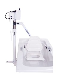 Mermaid Electric Bath Hoist with Commode Seat (Side Fit)