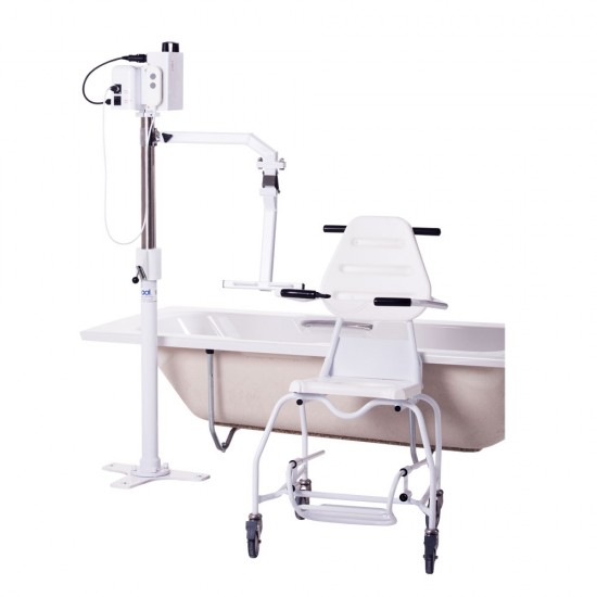 Mermaid Electric Bath Hoist with Ranger Seat (Side Fit)