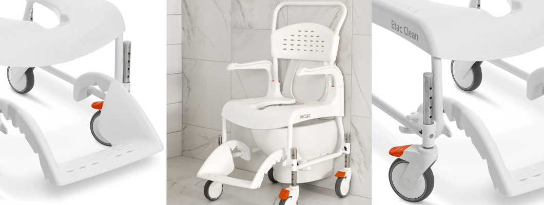 Height Adjustable Commode Shower chair