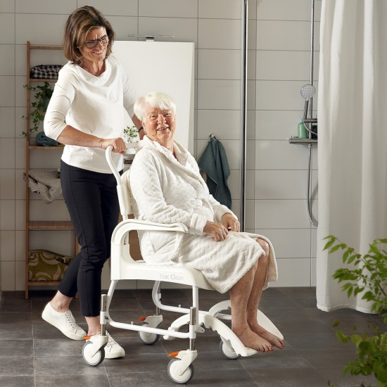 Etac Clean Height Adjustable Shower Commode