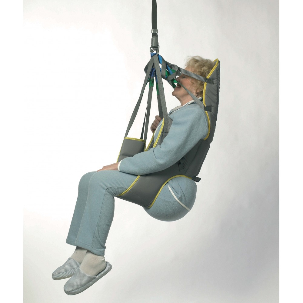 Invacare Dress Toilet Sling (High) - Polyester