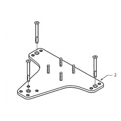 02 - Universal baseplate for concrete floor KIT