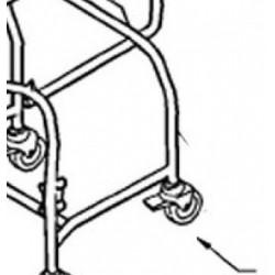 15 - Castor 100mm Braked (Tente)