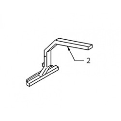 02 - Ranger Seat Support Arm - End Fit (Mermaid only)