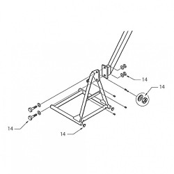 14 - Commode Seat Fixings & Trims