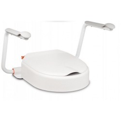 Etac Hi-Loo Toilet Seat with Support Arms (10 cm)