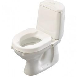 Etac Hi-Loo Toilet Seat with Brackets - 6 cm