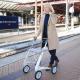 Carbon Lightweight Rollator - Wide