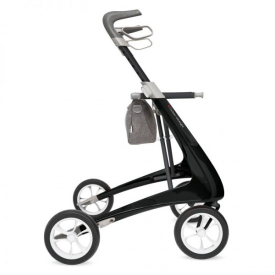 Carbon Lightweight Rollator - Regular Seat