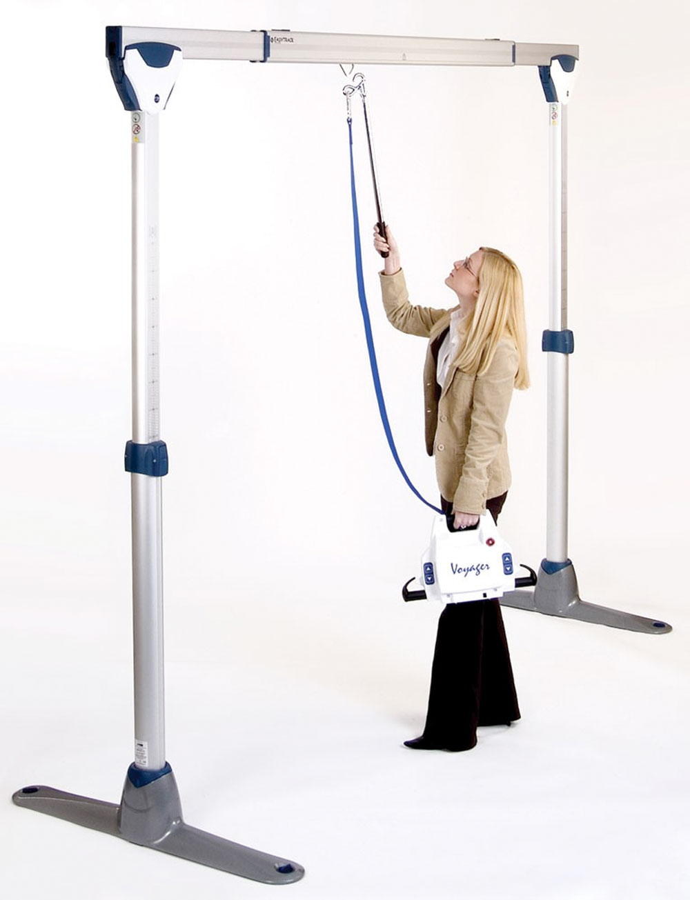 Oxford Easytrack FS Gantry and Voyager Portable Hoist Package