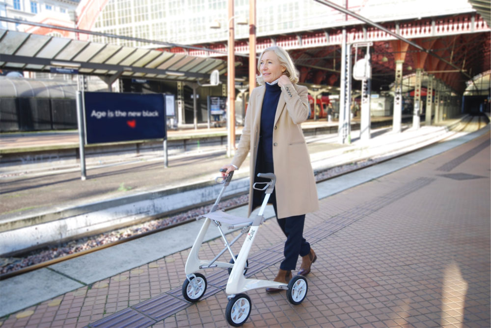 Carbon Lightweight Rollator