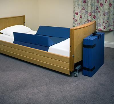 Bed side Wedges and Crash Mat